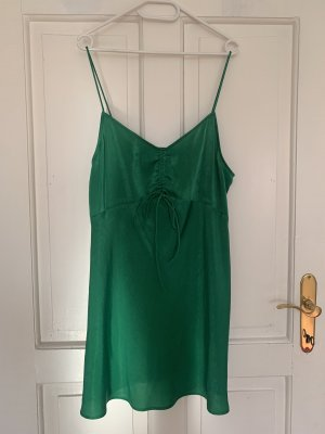 Zara Satinkleid in XL
