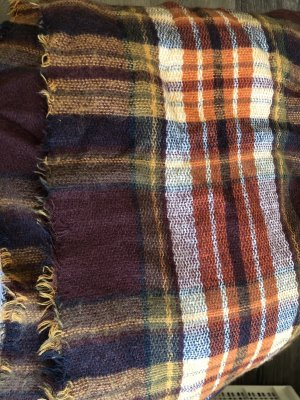 Zara Bufanda de lana multicolor