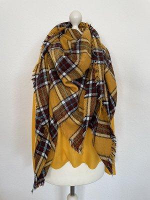 Zara Accesoires Bufanda de punto multicolor