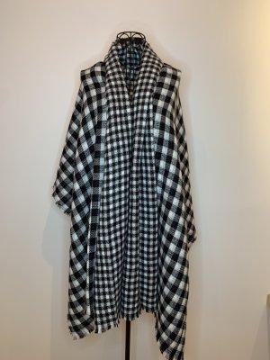 Zara Bufanda de lana negro-blanco