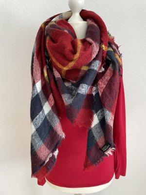 Zara Accesoires Écharpe en tricot multicolore