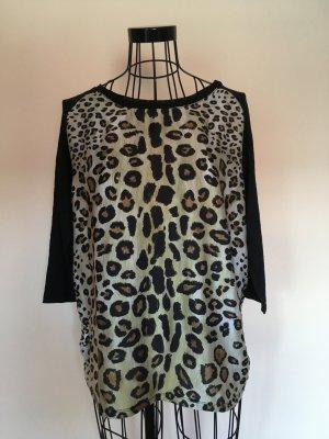 ZARA schickes Leoparden Strick Shirt