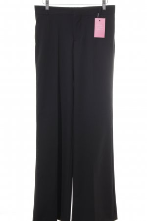 Zara Pantalone a zampa d'elefante nero stile professionale
