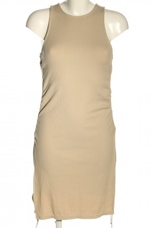 Zara Tube Dress cream casual look