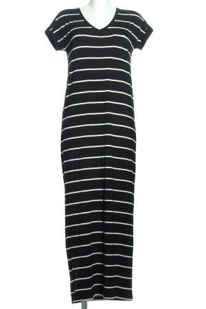 Zara Tube Dress black-white striped pattern casual look