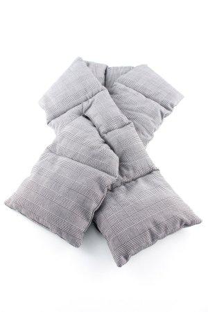 Zara Tubesjaal wit-zwart geruite print casual uitstraling