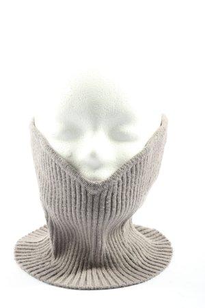 Zara Tube Scarf light grey casual look