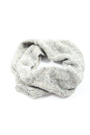 Zara Écharpe tube gris clair style décontracté