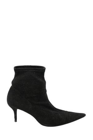 Zara Schlüpf-Stiefeletten schwarz Elegant