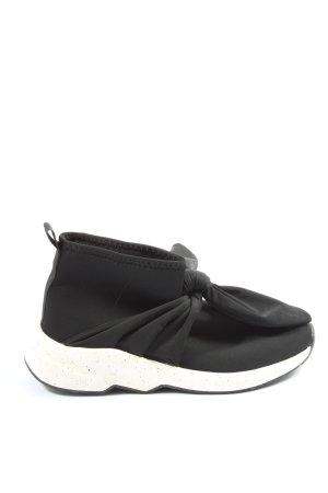 Zara Basket slip-on noir style décontracté