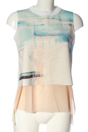 Zara Schlupf-Bluse Farbverlauf Casual-Look