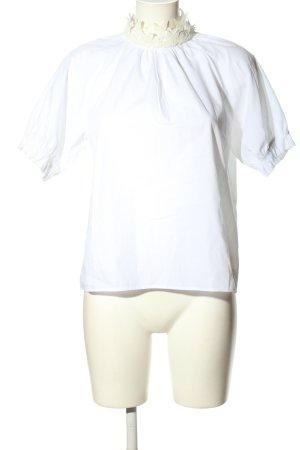 Zara Schlupf-Bluse weiß Elegant