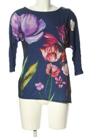 Zara Schlupf-Bluse Blumenmuster Casual-Look