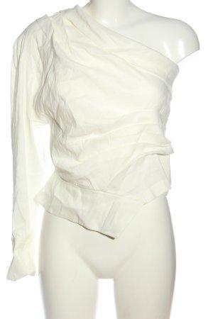 Zara Schlupf-Bluse creme Casual-Look