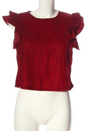 Zara Schlupf-Bluse rot Elegant