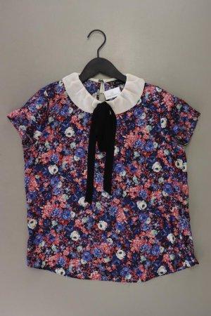 Zara Blouse avec noeuds multicolore polyester