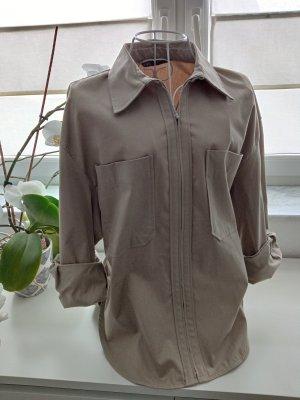 Zara Blouse Jacket beige