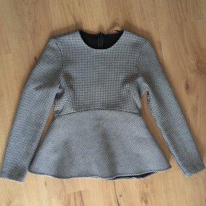 Zara Sweatshirt wit-zwart