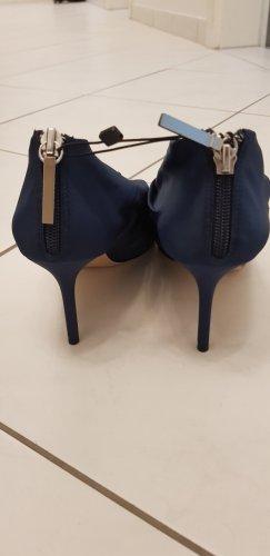 Zara Scarpa Oxford blu