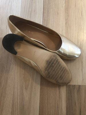 Zara Tacones Mary Jane color oro