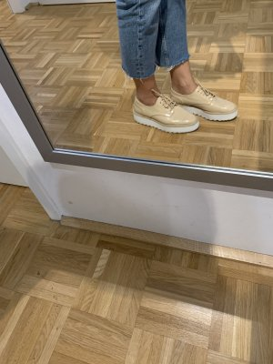 Zara Budapester kremowy