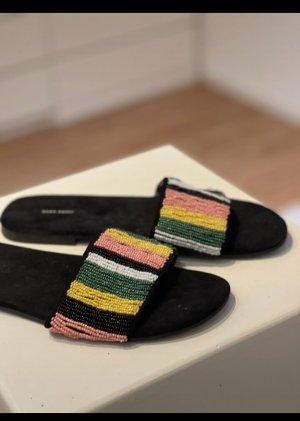 Zara Sandały plażowe Wielokolorowy