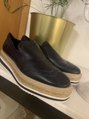Zara Trafaluc Oxfords dark blue