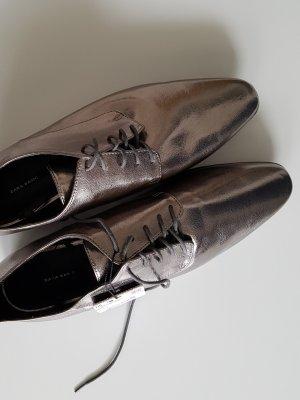 Zara Woman Pantofola argento