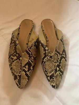 Zara Trafaluc Sabots taupe-grey brown