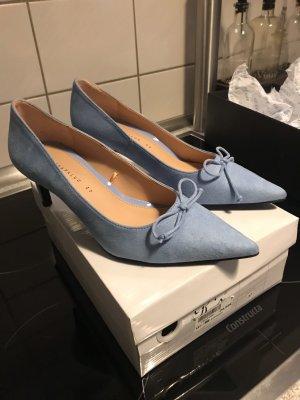 Zara Talons hauts bleu clair