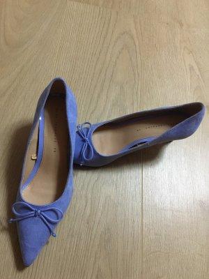 Zara Schuhe Pumps blau, 6 cm, NEUE