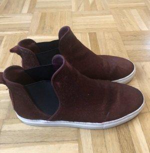 Zara Schuhe, Sneaker Ponyfell