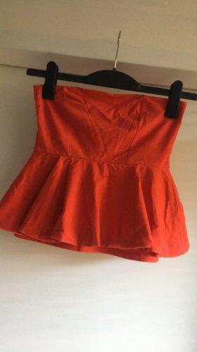 Zara schulterfreies shirt, Gr. S