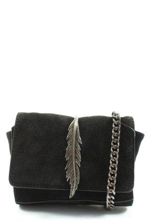 Zara Schultertasche schwarz Elegant