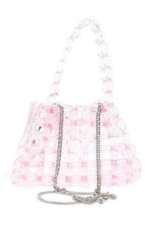 Zara Schultertasche pink Casual-Look