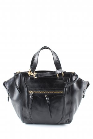 Zara Borsa a tracolla nero stile casual