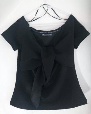 Zara schwarz Top