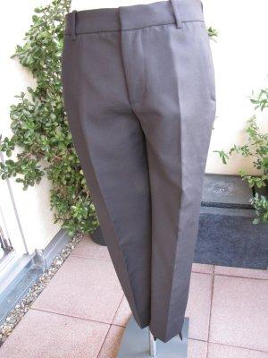 Zara, schwarze Anzughose Stretch, 7/8-Länge, Gr 36