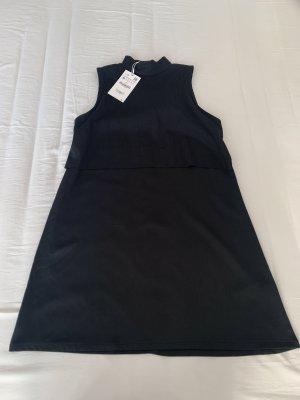 Zara schwarze Kleid