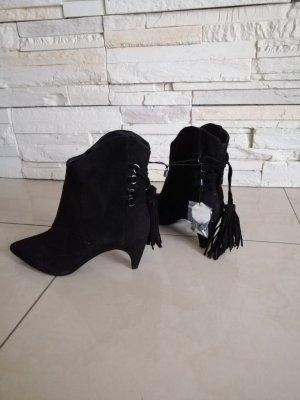 Zara Stivaletto con zip nero