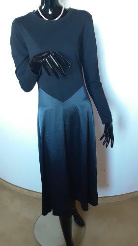 ZARA, schwarzes langes Kleid Gr. M