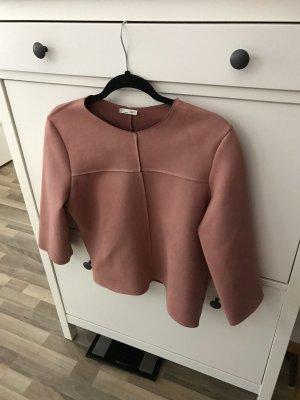 Zara Scuba Shirt L rose