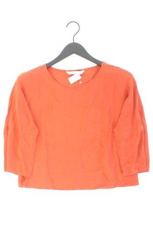 Zara Seidenbluse orange Größe M