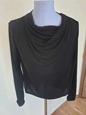 Zara Top col bénitier noir