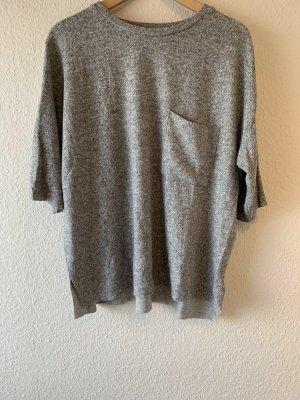 Zara Oversized Shirt light grey-grey