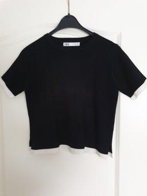 Zara Shirt aus dickem Stoff