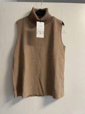 Zara Turtleneck Shirt light brown