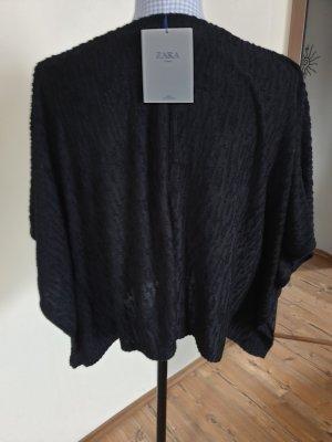 Zara Camicia a tunica nero