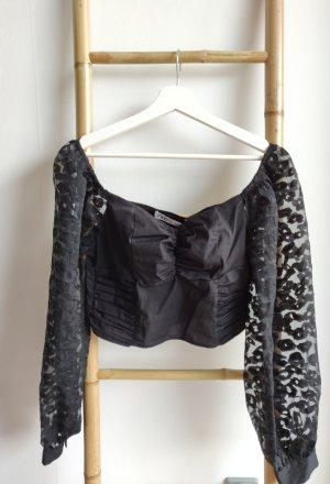 Zara Shirt cropped