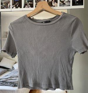 ZARA Shirt grau